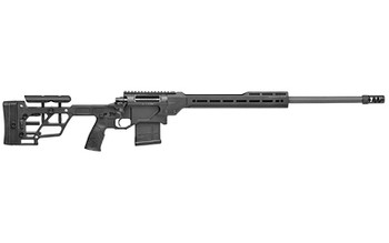 "Daniel Defense 4215910593 Delta 5 Pro Heavy Palma 6.5 Creedmoor 24"" 10+1 Black Cerakote Buttstock w/ LOP and Butt Pad Height Adjustment, Stock Black Polymer Grip"