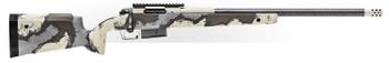 "Springfield Armory BAW92465PRCCFD 2020 WayPoint  6.5 PRC 3+1 24"" CF Ridgeline Camo Hybrid Profile w/M-LOK Stock Desert Verde Cerakote Right Hand"