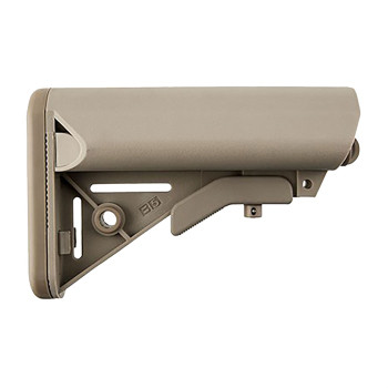 AR-15 Enhanced SOPMOD Stock Collapsible Mil-Spec FDE