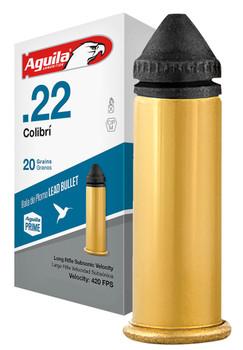 Aguila 1B2220337 Performance Colibri 22 LR 20 gr Colibri Lead 1000 rd Case