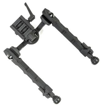 """Accu-Tac FCASG205 FC-5 G2 Arca Spec Bipod Black Anodized 6.25""""-10.85"""" Aluminum"""