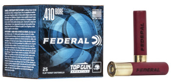 "FEDERAL 410GA 2 3/4"" 1/2OZ 1,330 FPS 9   Top Gun"
