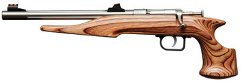 "KEYSTONE Chipmunk 22 Pistol Brown/SS  10.5"" 1shot"