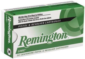 Remington UMC 10Mm 180 Grain Weight FMJ 50/500