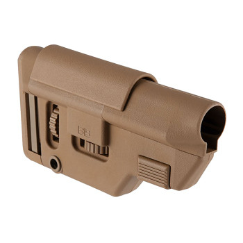 Collapsible Precision Stock 556 Coyote Brown