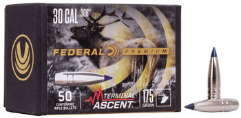 Federal PB308TA3 Terminal Ascent  308 Cal 215 gr Terminal Ascent 50 Per Box