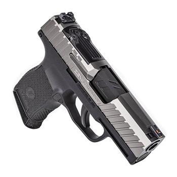 "ZEV GUNMODZ365OCTANERMSCGR Z365 Micro Compact Gun Mod 9mm Luger 3.10"" 10+1 Black Titanium Gray Octane with RMR Slide Black Polymer Grip"