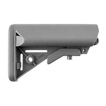 AR-15 Enhanced SOPMOD Stock Collapsible Mil-Spec Gray