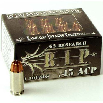 G2 RIP 45 AUTO 162 GRAIN HOLLOW POINT - RIP45ACP