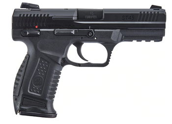 Sarsilmaz ST45 BLACK, 45 ACP, 12 Threaded Barrel - 23152