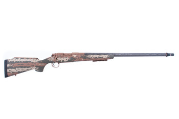 "Remington Custom Shop 700 SS Carbon Hunter 308 24"" Camo Stripes"