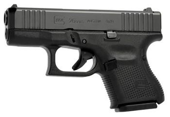 GLOCK 26 9MM LUGER GEN-5 FS 10-SHOT BLACK FRONT SERRATIONS