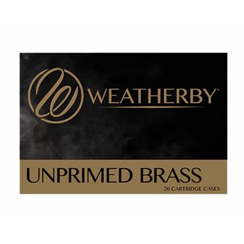 WEATHERBY BRASS 6.5WBY RPM UNPRIMED BRASS 20CT