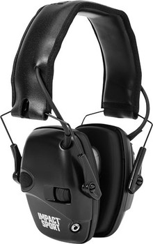 HOWARD LEIGHT LEIGHT IMPACT SPORT BLACK ELECTRONIC MUFF NRR22