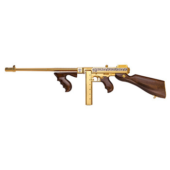 AUTO-ORDNANCE 1927A-1 DELUXE 45ACP CRUSADER GOLD PLATE 50RD