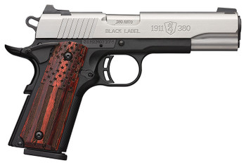 BROWNING 1911-380 Blk Label Pro AF 380ACP NS Pic