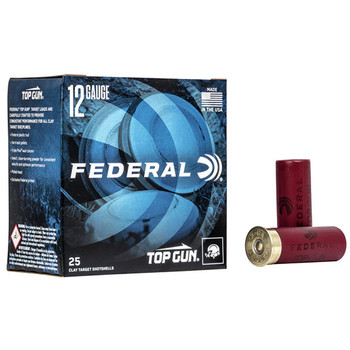 FEDERAL TOP GUN 12GA 2.75 1-1/8OZ #9