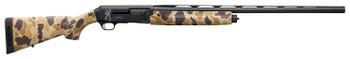 "Browning 011431205 Silver Field 12 Gauge 26"" 4+1 3.5"" Black/Charcoal Bi-Tone Vintage Tan Camo Fixed w/Textured Grip Panels Stock Right Hand (Full Size)"