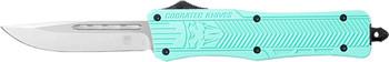 "COBRATEC KNIVES MEDIUM CTK1 OTF TIFFANY BLUE 3"" DROP POINT"