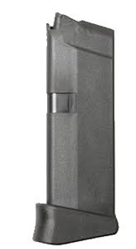 Glock OEM 43 9MM 6RD W/Ext PKG Magazine MF08855