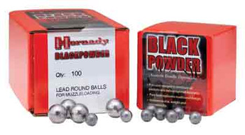 Hornady .375 .36 Caliber Round Ball 100-Count 6020