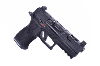 Agency Arms P320 Carry EXA 9mm, Ported Premier Barrel