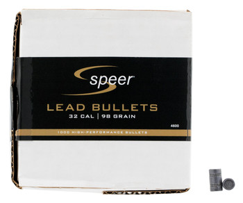Cci/Speer BLT 32Cal 98Gr Lead Hbwc .314 500/Box