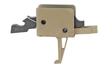 CMC Ar-15 Match Trigger Flat FDE 91503FDE