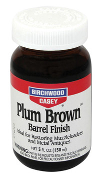 Birchwood Casey Plum Brown Barrel Finish 5Oz. JAR