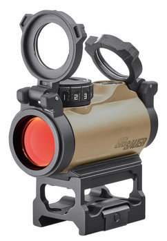 Sig Sauer Electro-Optics SOR72011 Romeo-MSR  1x20mm 2 MOA Red Dot Flat Dark Earth