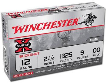 WINCHESTER SUPER-X 100 YEAR ANN 12GA 2.75 00BUCK 10/10