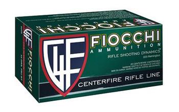 Fiocchi 223Rem 55 Grain Weight FMJ 50/1000