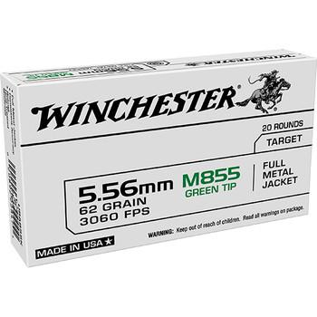 WINCHESTER USA 5.56MM M855 62GR FMJ WIN LC 20/50 (4550)