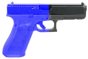 """Glock UM175F73A G17  9mm Luger 4.49"""" 17+1 Black Black Steel Slide Black Polymer Grip Flared Glock Night Sights"""