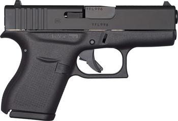 GLOCK 43 9MM LUGER FS 6-SHOT BLACK REBUILT
