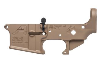 Aero Precision Forged Stripped AR15 Lower Receiver - FDE Cerakote