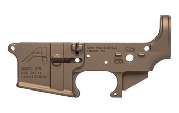 Aero Precision Gen 2 Forged Stripped AR15 Lower Receiver - Burnt Bronze Cerakote