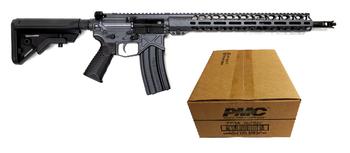 Battle Arms Development Billet AUTHORITY Elite AR Rifle - Combat Grey