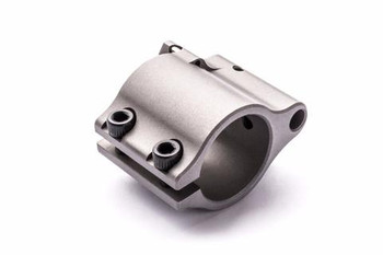 """SUPERLATIVE ARMS .750"""" Adjustable Gas Block, Bleed Off - Clamp On - Stainless Steel, Matte Finish (SABO-DI-750CS)"""