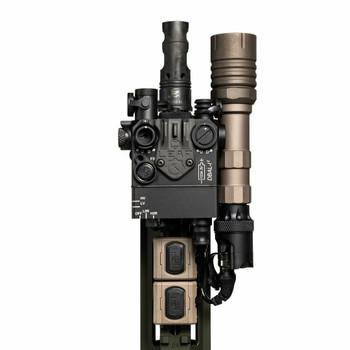 "Modlite Modbutton Lite - Black - Laser - 7"" (MB-L-BLK-CL-7 )"