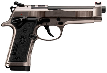 """Beretta USA J92XRD21 92X Performance Defensive 9mm Luger 4.90"""" 15+1 Red-Dot Optic Ready Nistan Slide/Frame with Fiber Optic Front Sight (Right Hand)"""