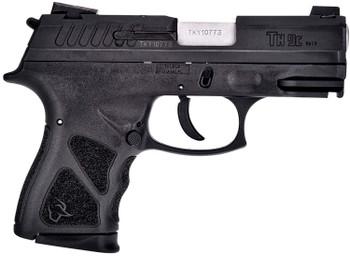 "Taurus 1-TH9C031-3X10 TH9c  9mm Luger 3.54"" 10rd (3) Black Frame w/Rail Matte Black Steel Slide Black Polymer Grip"