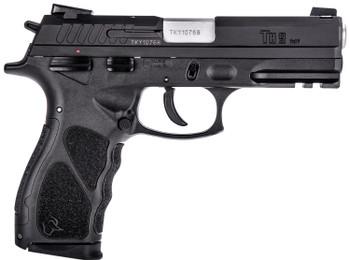 "Taurus 1-TH9041-3X10 TH9  9mm Luger 4.27"" 10rd (3) Black Frame w/Rail Matte Black Steel Slide Black Interchangeable Backstrap Grip"