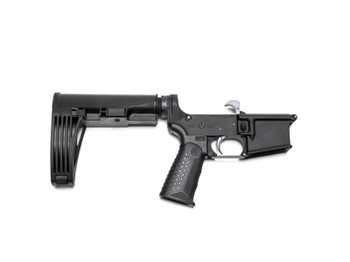 Battle Arms Development WORKHORSE Forged Complete AR Pistol Lower - Black