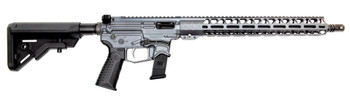 Battle Arms Development CA Compliant Billet XIPHOS 9 AR Rifle - Combat Grey