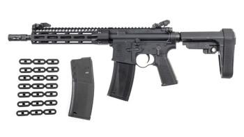 Troy Industries A4 Pistol 5.56 NATO AR-15 SBA3 Brace 30rd w/ Squid Grip and Magazine Kit