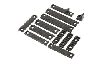 Knights Armament URX 3/3.1 DLX Rail Panel KIT Black