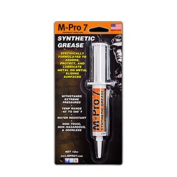 M-Pro 7 SYN GUN Grease .5Oz Syrg 6PK 070-1356