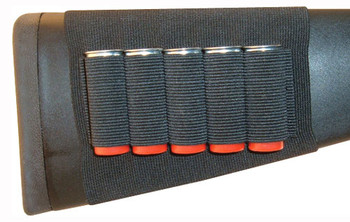 Grovtec Shotgun Shell Holder Buttstock Sleeve Open
