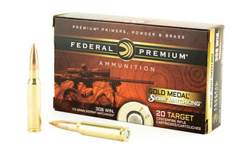 Federal Gold Medal Sierra Match King 308 WIN 175Gr